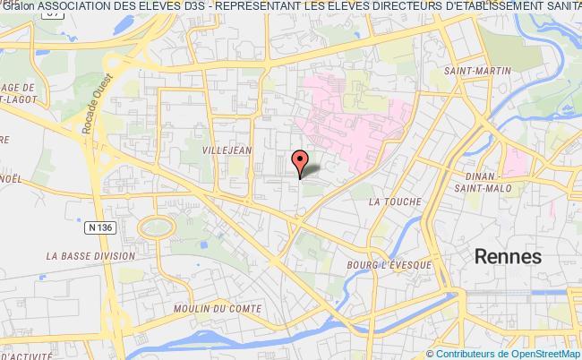 plan association Association Des Eleves D3s - Representant Les Eleves Directeurs D'etablissement Sanitaire, Social Et Medico-social De L'ehesp