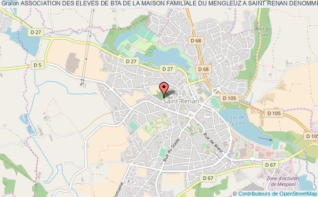 plan association Association Des Eleves De Bta De La Maison Familiale Du Mengleuz A Saint Renan Denommee 'bta Dynamique'