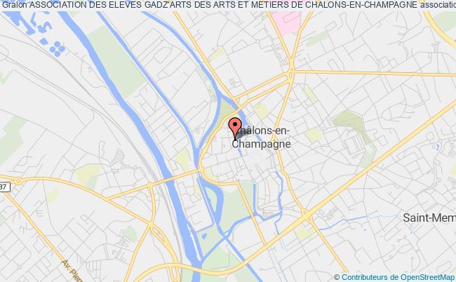 plan association Association Des Eleves Gadz'arts De L'ecole Nationale Superieure D'arts Et Metiers De Chalons-en-champagne