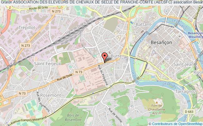 plan association Association Des Eleveurs De Chevaux De Selle De Franche-comte (aecsfc)