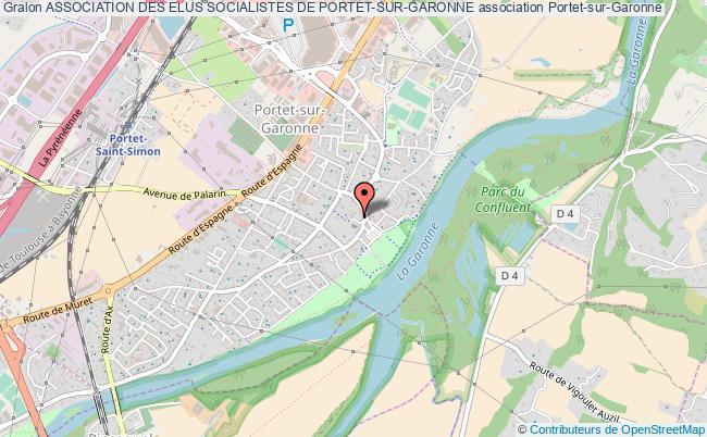 plan association Association Des Elus Socialistes De Portet-sur-garonne