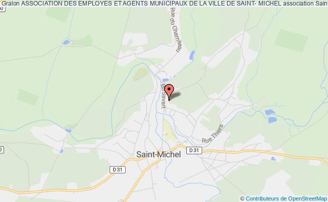 plan association Association Des Employes Et Agents Municipaux De La Ville De Saint- Michel