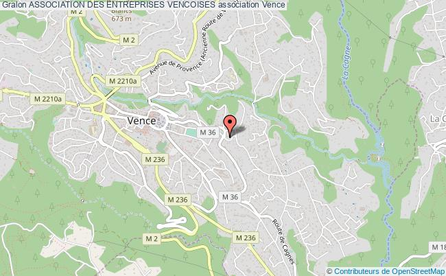 plan association Association Des Entreprises Vencoises