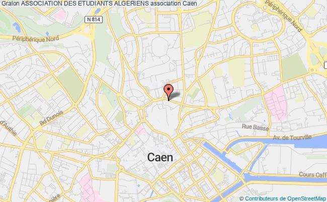 plan association Association Des Etudiants Algeriens Caen