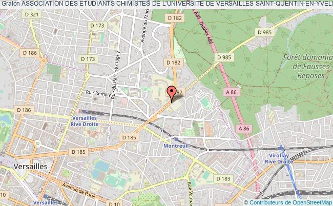 plan association Association Des Etudiants Chimistes De L'universite De Versailles Saint-quentin-en-yvelines (aec-uvsq)