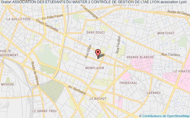 plan association Association Des Étudiants Du Master 2 ContrÔle De Gestion De L'iae Lyon