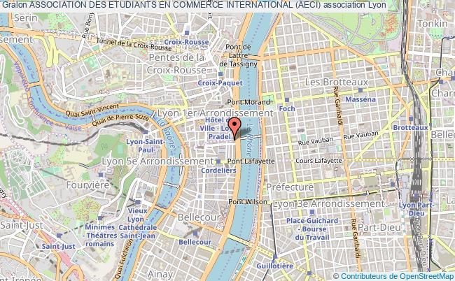 plan association Association Des Etudiants En Commerce International (aeci)