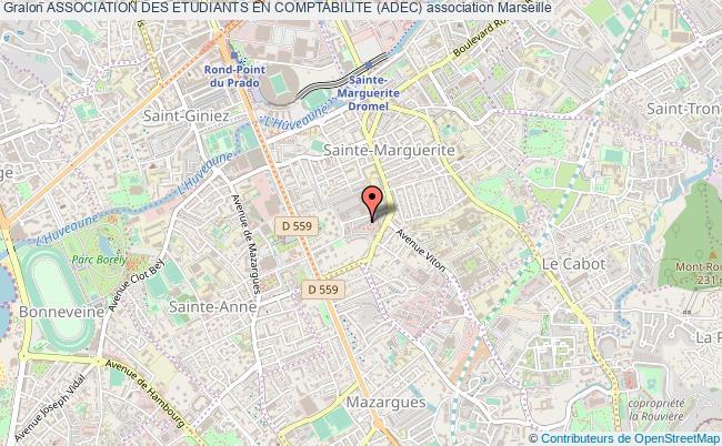 plan association Association Des Etudiants En Comptabilite (adec) Marseille