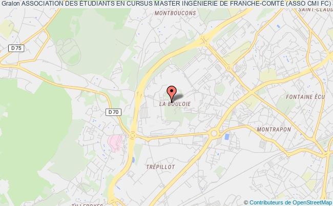 plan association Association Des Étudiants En Cursus Master IngÉnierie De Franche-comtÉ (asso Cmi Fc)