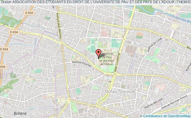plan association Association Des Etudiants En Droit De L'universite De Pau Et Des Pays De L'adour (themis)