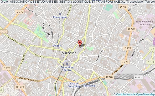 plan association Association Des Etudiants En Gestion Logistique Et Transport (a.e.g.l.t)