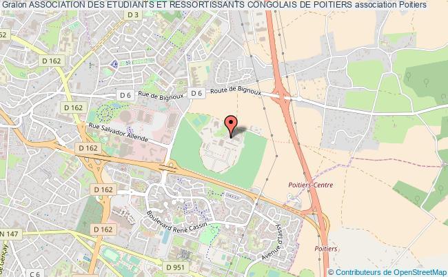 plan association Association Des Etudiants Et Ressortissants Congolais De Poitiers Poitiers