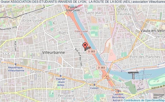 plan association Association Des Étudiants Iraniens De Lyon,  La Route De La Soie (aeil)
