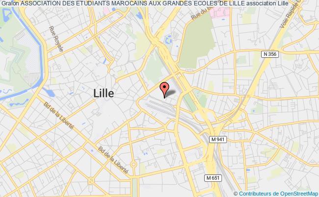 plan association Association Des Etudiants Marocains Aux Grandes Ecoles De Lille Lille