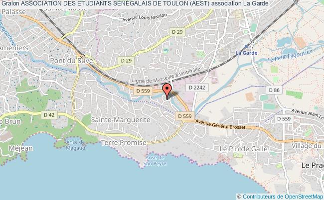 plan association Association Des Etudiants SÉnÉgalais De Toulon (aest)
