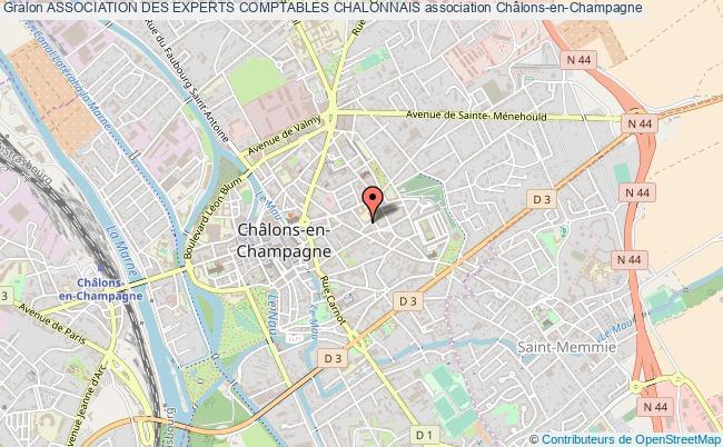 plan association Association Des Experts Comptables Chalonnais
