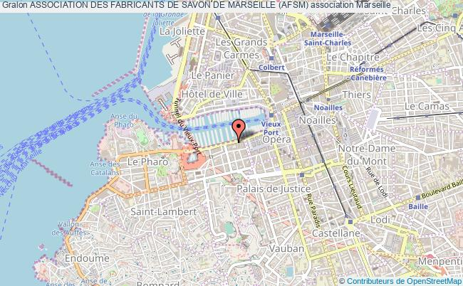 plan association Association Des Fabricants De Savon De Marseille (afsm)