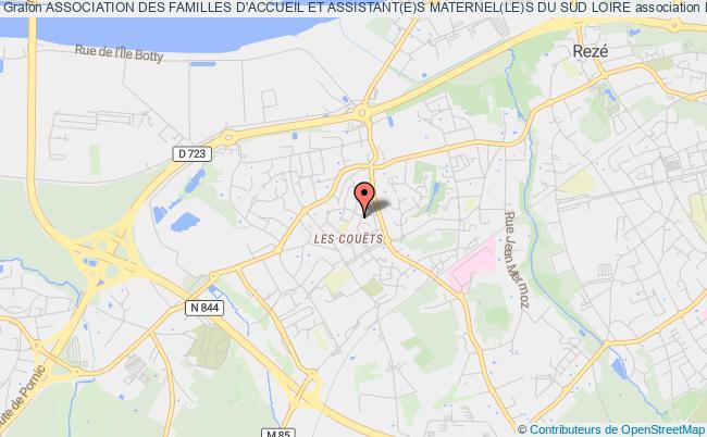 plan association Association Des Familles D'accueil Et Assistant(e)s Maternel(le)s Du Sud Loire