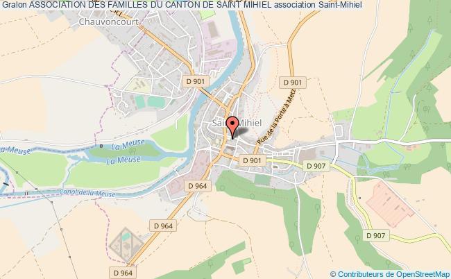 plan association Association Des Familles Du Canton De Saint Mihiel