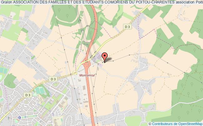 plan association Association Des Familles Et Des Etudiants Comoriens Du Poitou-charentes