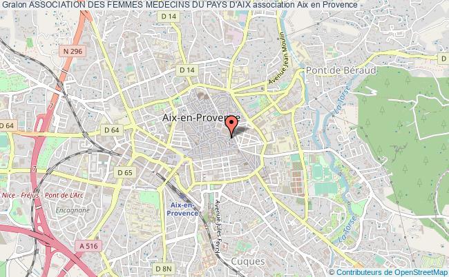 plan association Association Des Femmes Medecins Du Pays D'aix