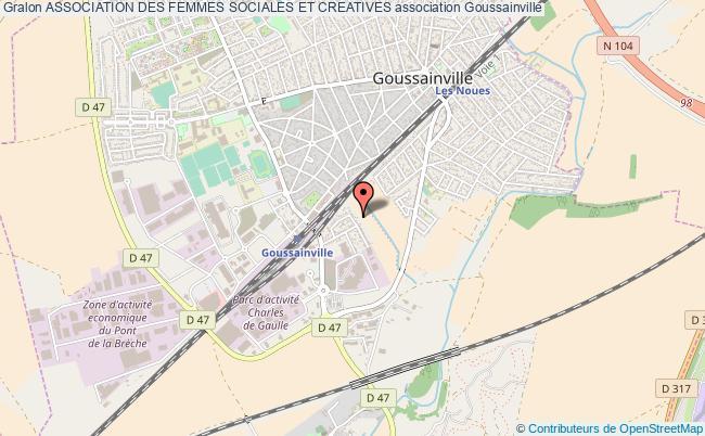 plan association Association Des Femmes Sociales Et Creatives Goussainville