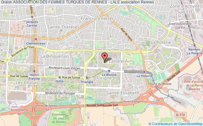 plan association Association Des Femmes Turques De Rennes - Lale