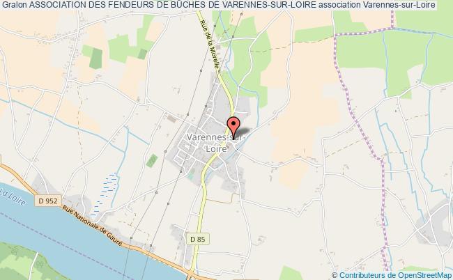 plan association Association Des Fendeurs De BÛches De Varennes-sur-loire
