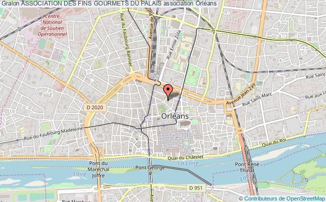 plan association Association Des Fins Gourmets Du Palais