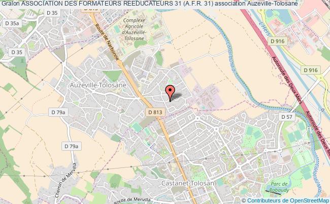plan association Association Des Formateurs Reeducateurs 31 (a.f.r. 31) Auzeville-Tolosane