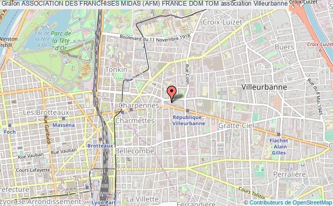 plan association Association Des Franchises Midas (afm) France Dom Tom