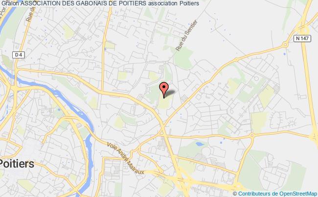 plan association Association Des Gabonais De Poitiers