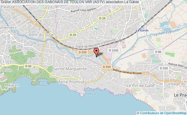 plan association Association Des Gabonais De Toulon Var (agtv)