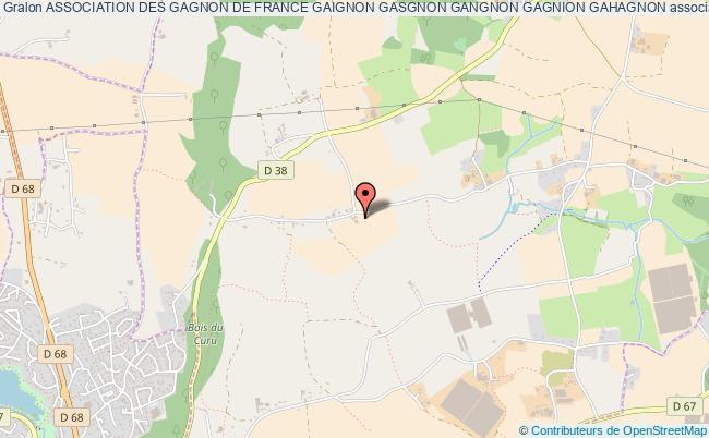 plan association Association Des Gagnon De France Gaignon Gasgnon Gangnon Gagnion Gahagnon