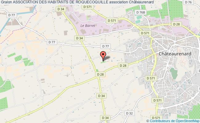 plan association Association Des Habitants De Roquecoquille