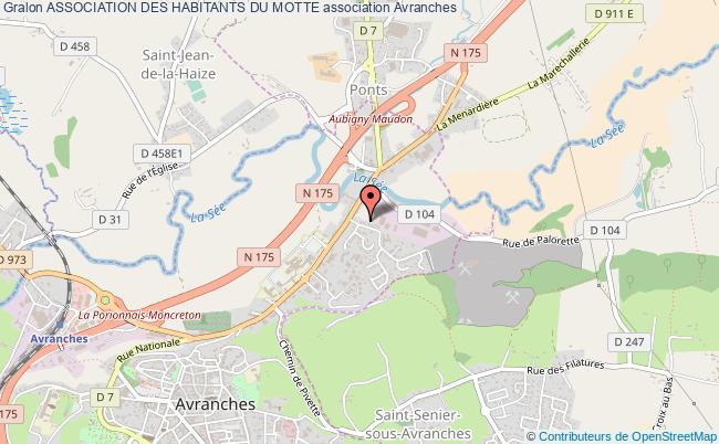 plan association Association Des Habitants Du Motte