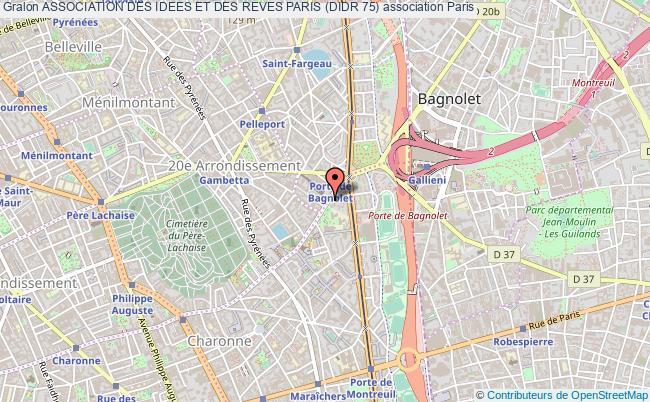 plan association Association Des Idees Et Des Reves Paris (didr 75)