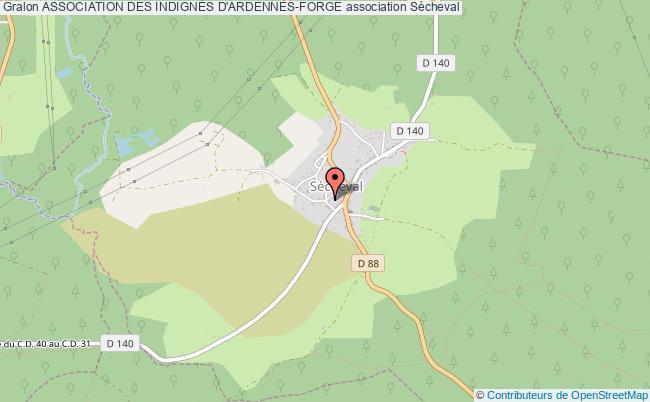 plan association Association Des IndignÉs D'ardennes-forge