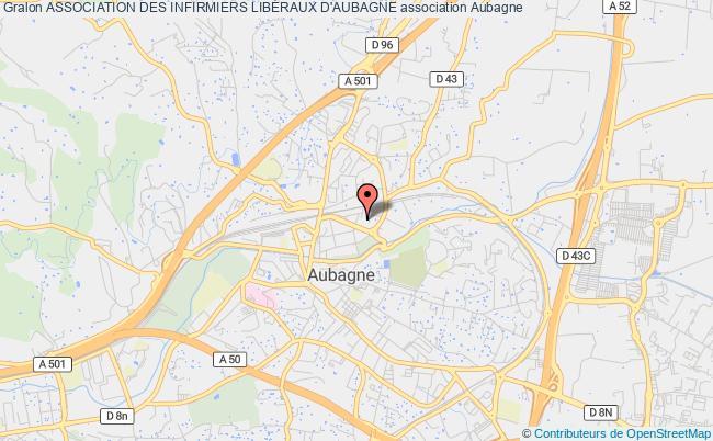 plan association Association Des Infirmiers LibÉraux D'aubagne