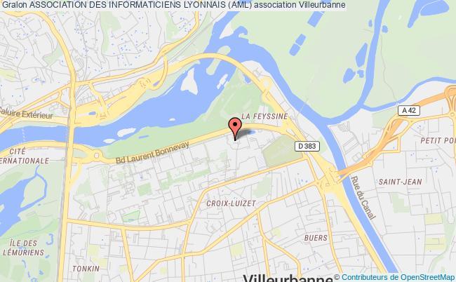 plan association Association Des Informaticiens Lyonnais (aml)