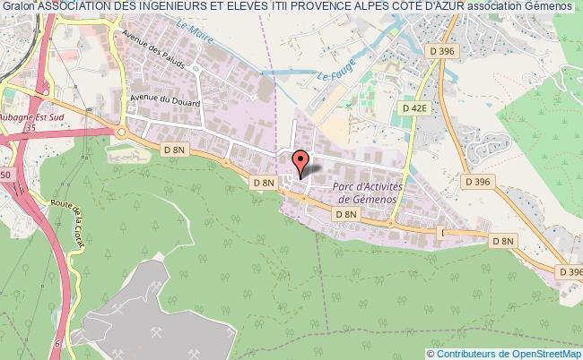 plan association Association Des Ingenieurs Et Eleves Itii Provence Alpes Cote D'azur