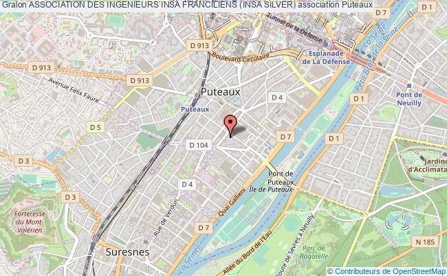 plan association Association Des Ingenieurs Insa Franciliens (insa Silver)