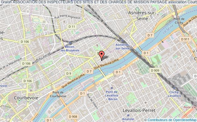plan association Association Des Inspecteurs Des Sites Et Des Charges De Mission Paysage Courbevoie