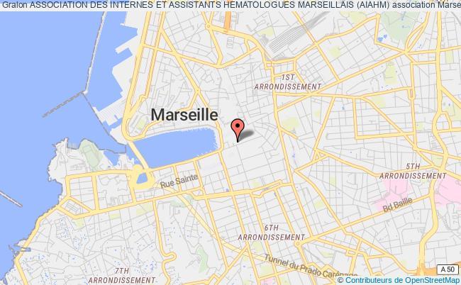 plan association Association Des Internes Et Assistants Hematologues Marseillais (aiahm) Marseille