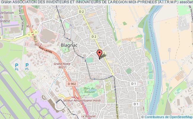 plan association Association Des Inventeurs Et Innovateurs De La Region Midi-pyrenees (a.i.i.r.m.p.)
