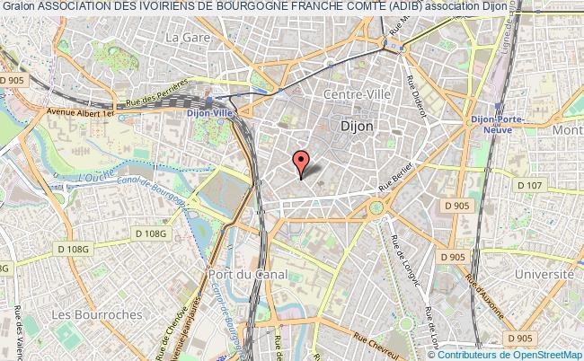 plan association Association Des Ivoiriens De Bourgogne Franche Comte (adib)