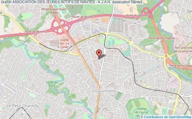 plan association Association Des Jeunes Actifs De Nantes - A.j.a.n.