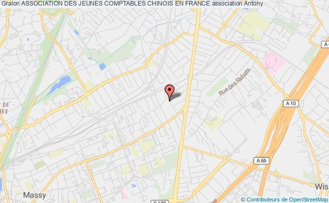 plan association Association Des Jeunes Comptables Chinois En France Courbevoie