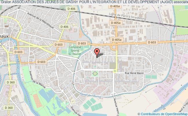 plan association Association Des Jeunes De Gagny Pour L'integration Et Le Developpement (ajgid)