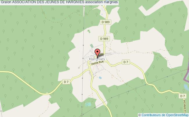 plan association Association Des Jeunes De Hargnies